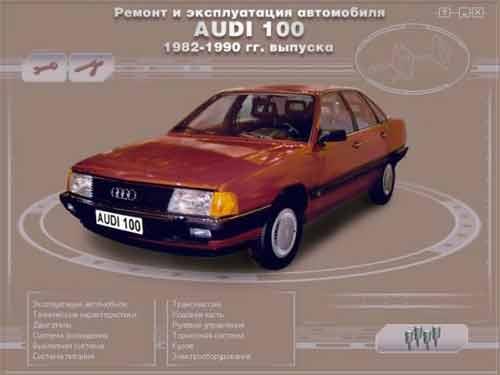 Мультимедийное руководство по Ауди 100 1982-1990 гг. выпуска