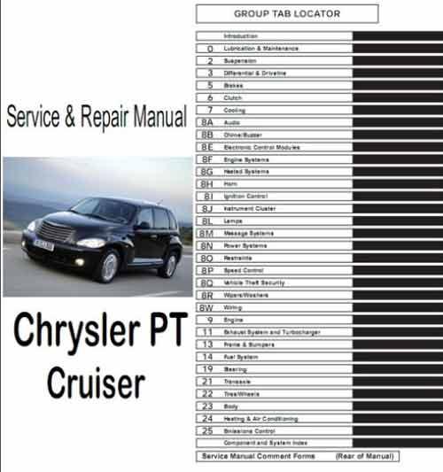 Chrysler PT Cruiser с 2000г. выпуска. Устройство, техническое обслуживание и ремонт. Дилерское руководство на Chrysler PT Cruiser с 2000г. выпуска.