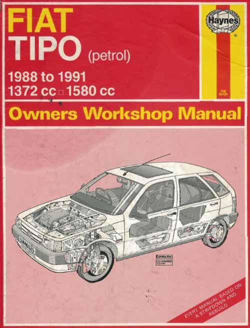 Руководство по ремонту и обслуживанию Fiat Tipo 1998-1991 гг.