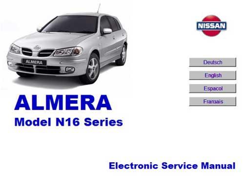 Ремонт и эксплуатация NISSAN Almera N16. Мультимедийное руководство по ремонту и обслуживанию автомобиля NISSAN Almera N16.